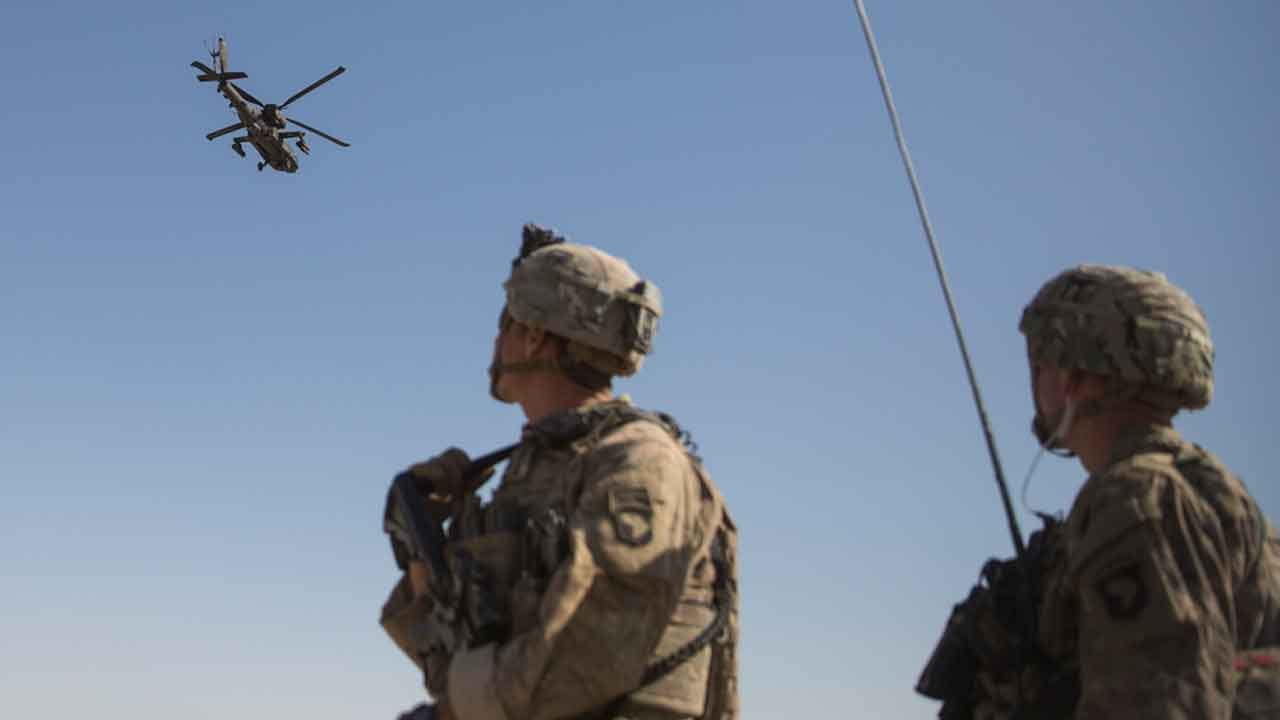 U.S. Airstrike In Afghanistan Hits Taliban 4 Days After Trump Admin. Signs Peace Deal