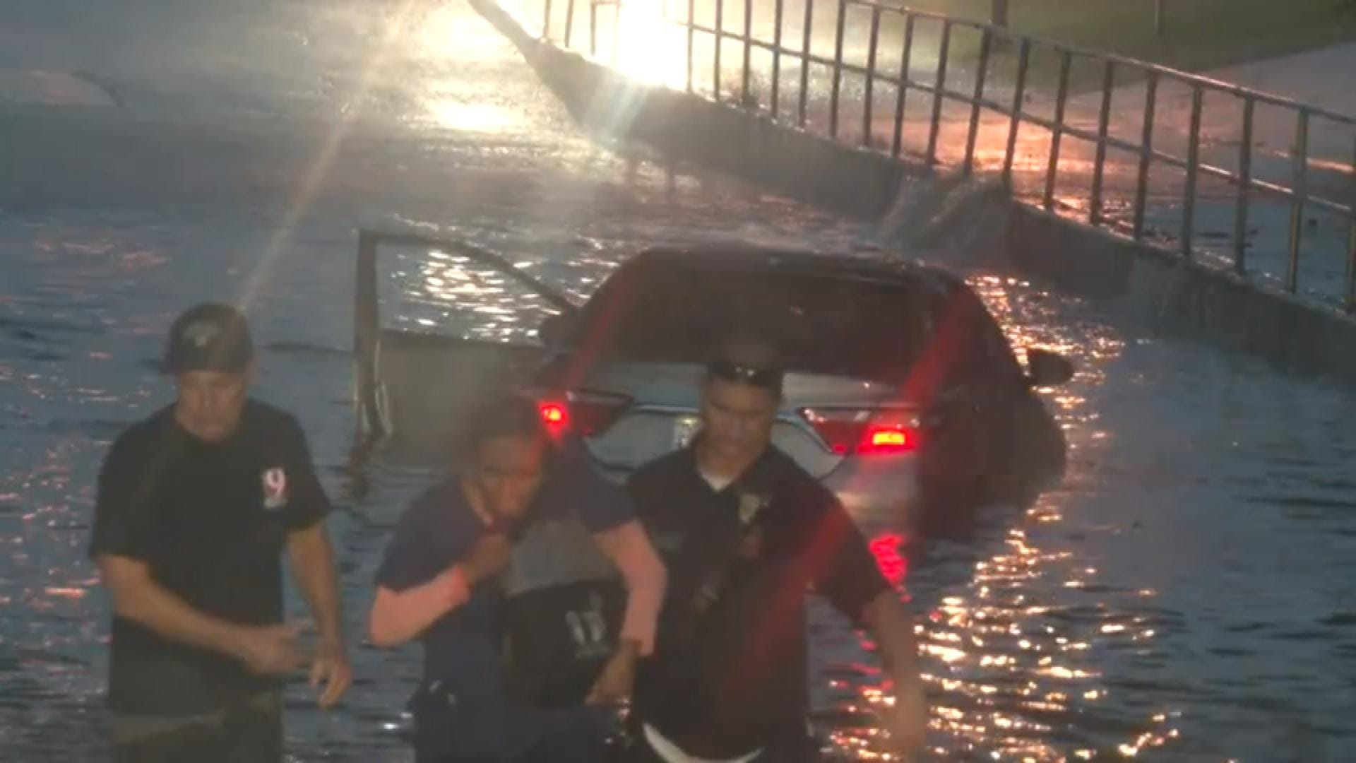 Floodwaters Cause Headaches For Drivers, Emergency Responders
