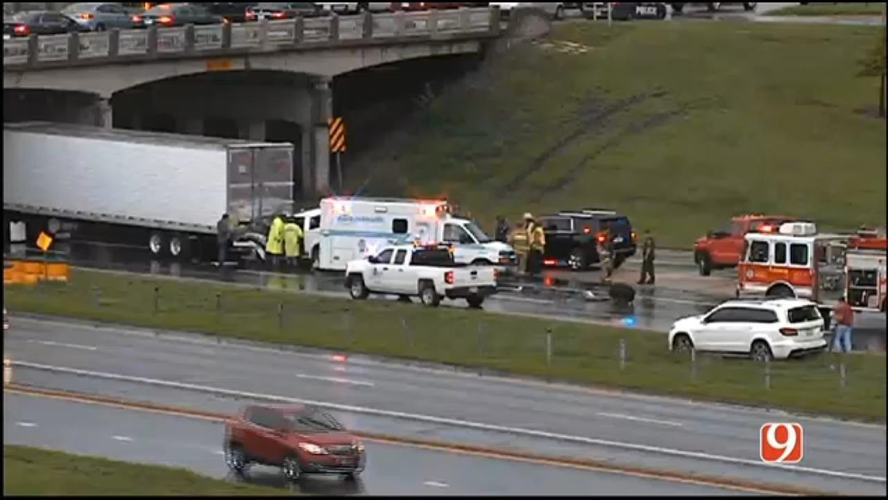 1 Dead In WB I-40 Accident Involving Semi