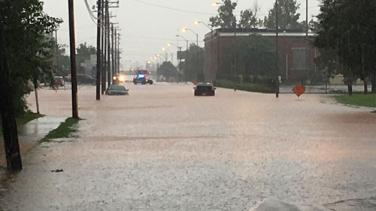 Powerful Rains Lead To Flash Flooding In Metro