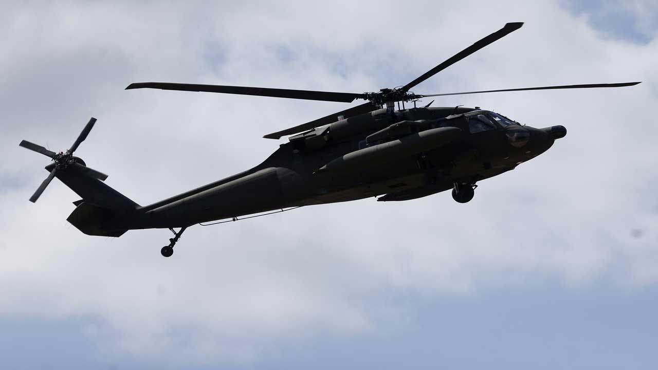 1 Missing After Black Hawk Helicopter Crashes