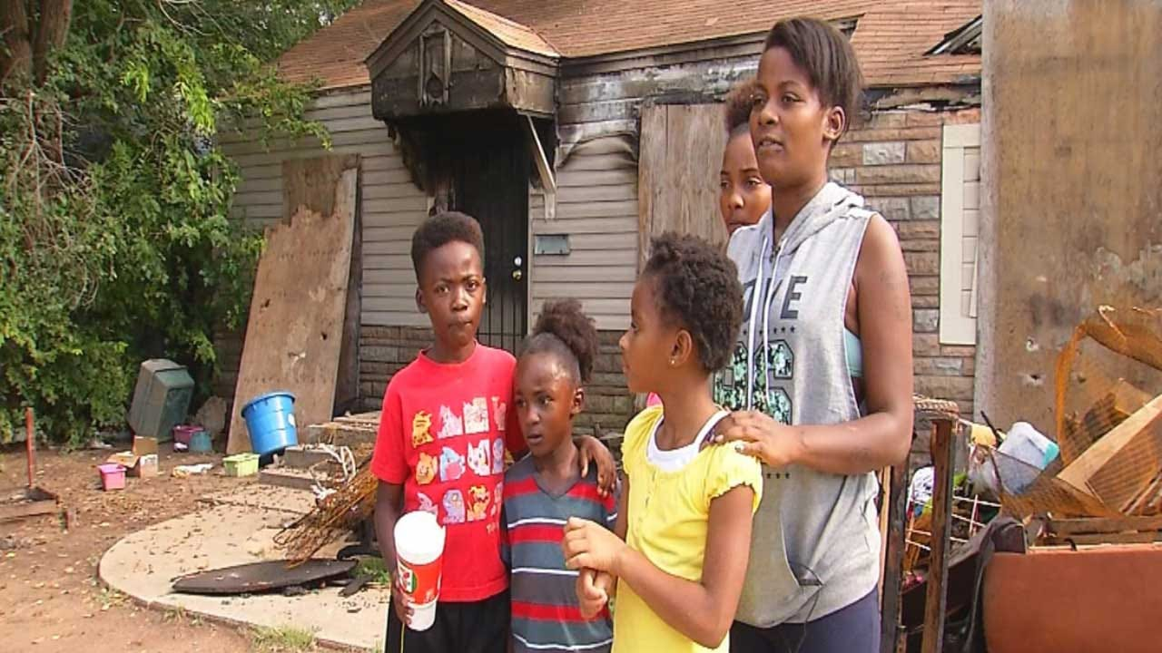 Family Loses Everything In NE OKC House Fire