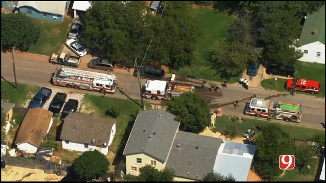 Crews Quickly Put Out SW OKC House Fire