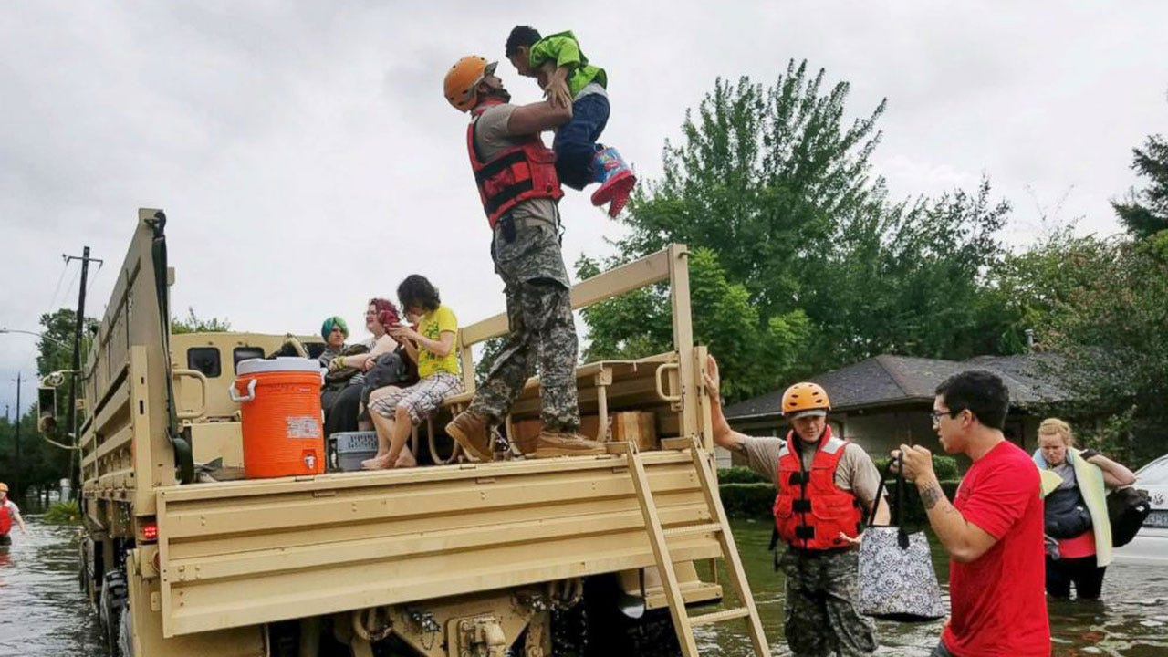 Entire Texas National Guard Activated In Response To Harvey