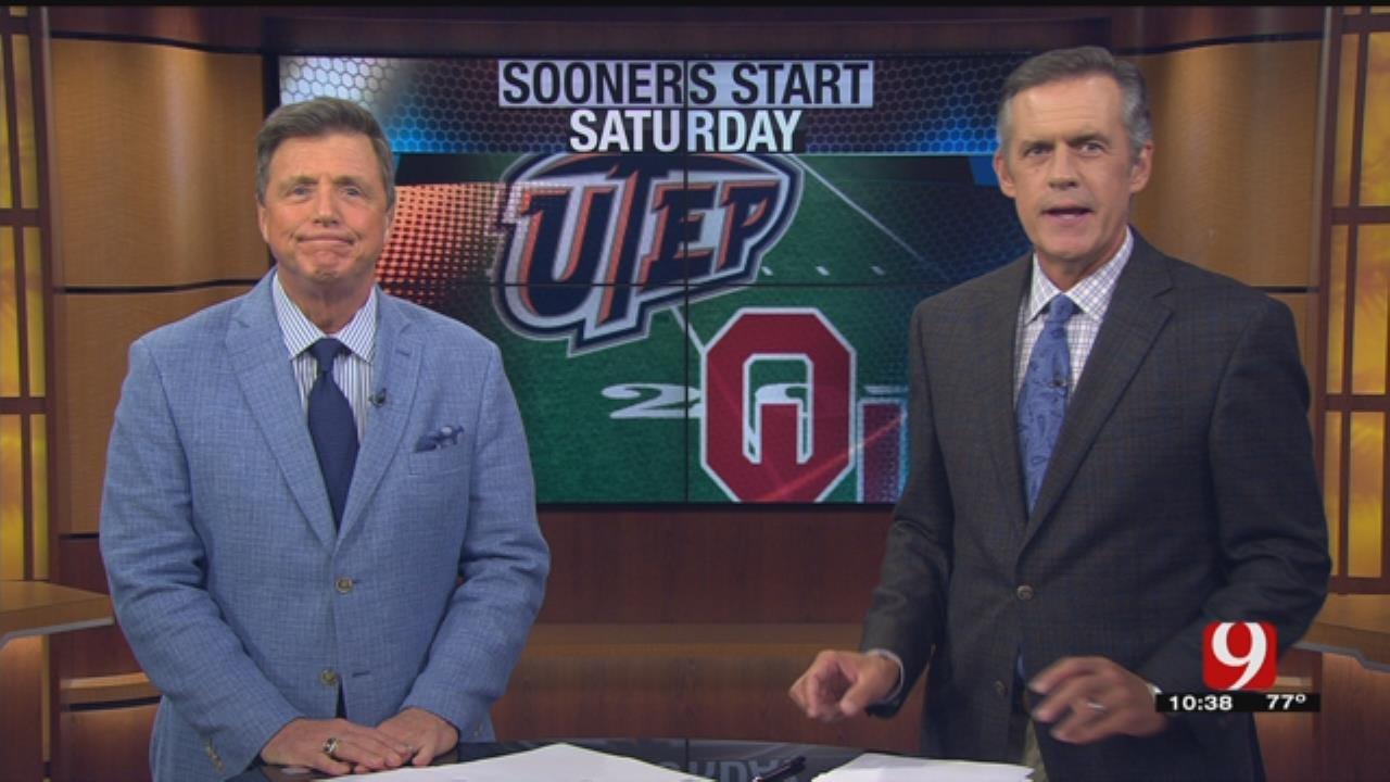 Oklahoma Ford Sports Blitz: August 27, 2017