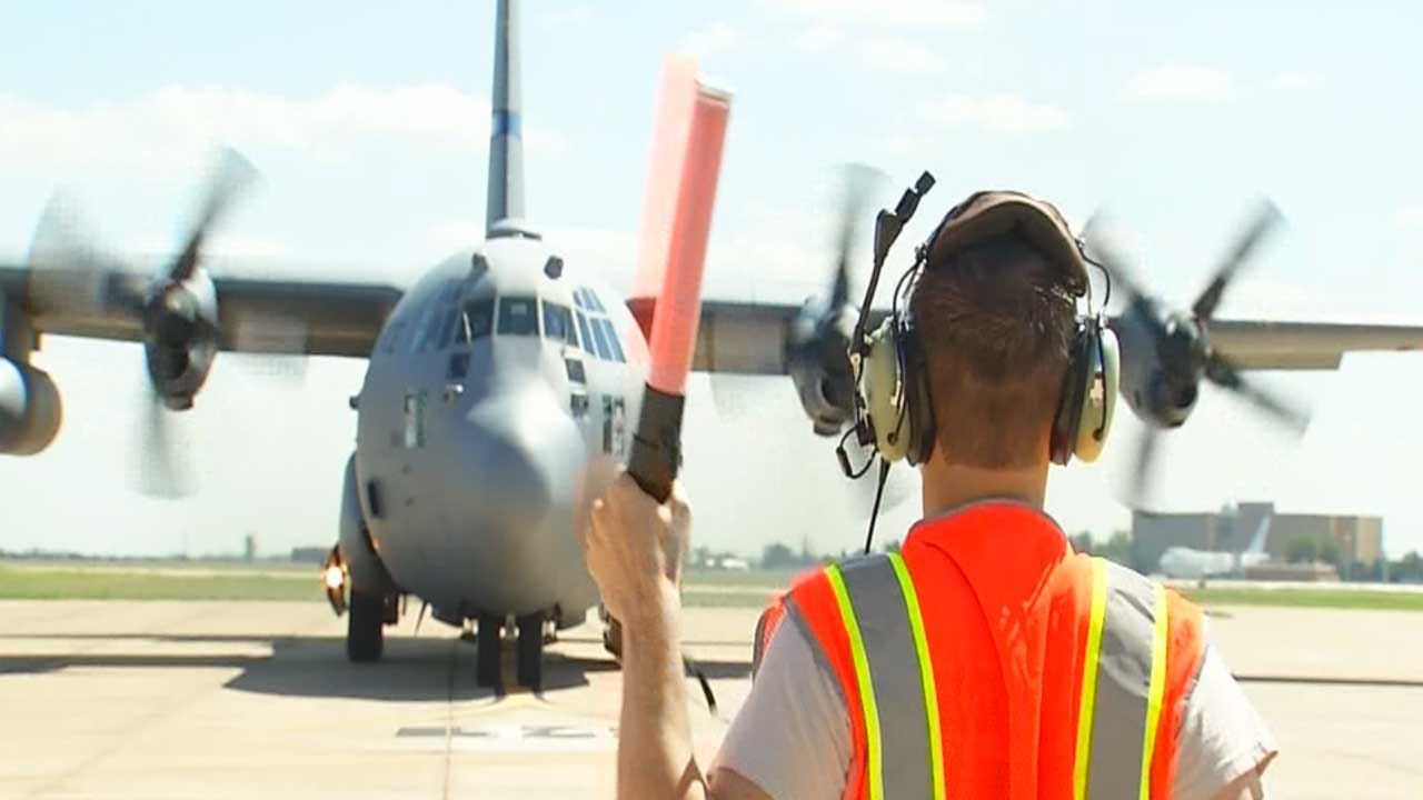 OK Air National Guard Helps With Harvey Relief