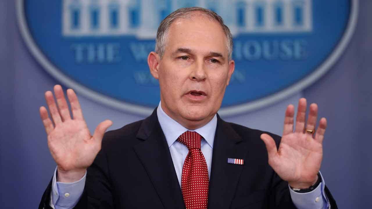 EPA Chief Scott Pruitt Backtracks On Delaying Rules Reducing Emissions