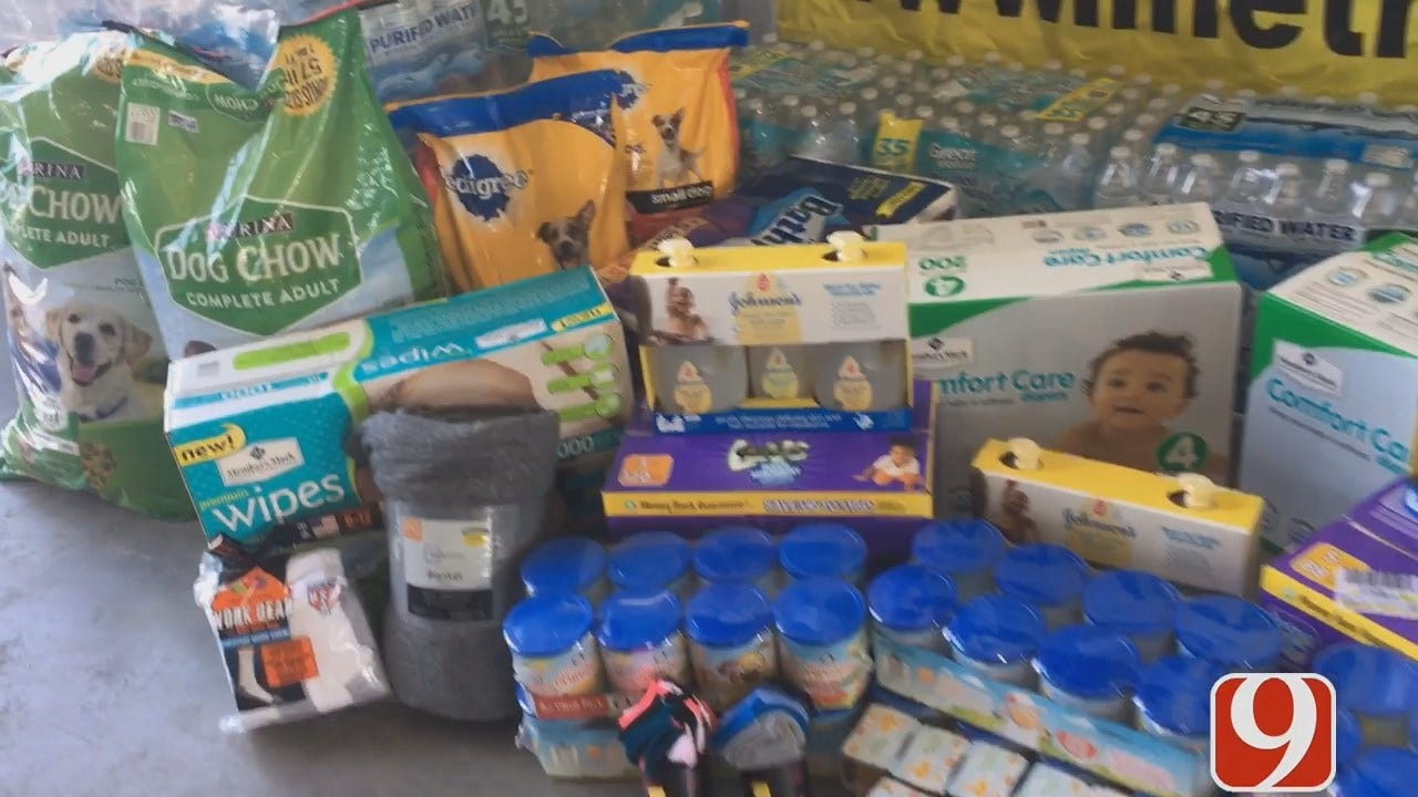 OKC Contractor To Take Three Truckloads Of Supplies To South Texas