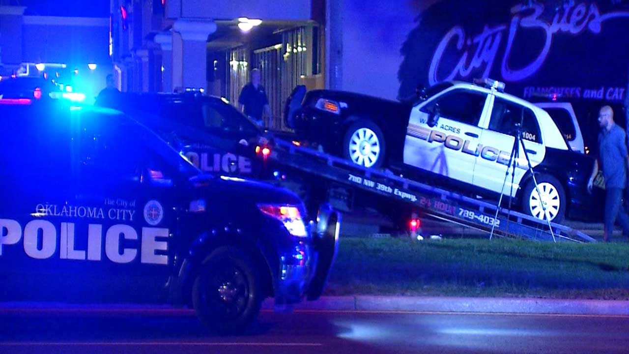 Warr Acres Police Officer Hits Pedestrian In Tuesday Night Crash