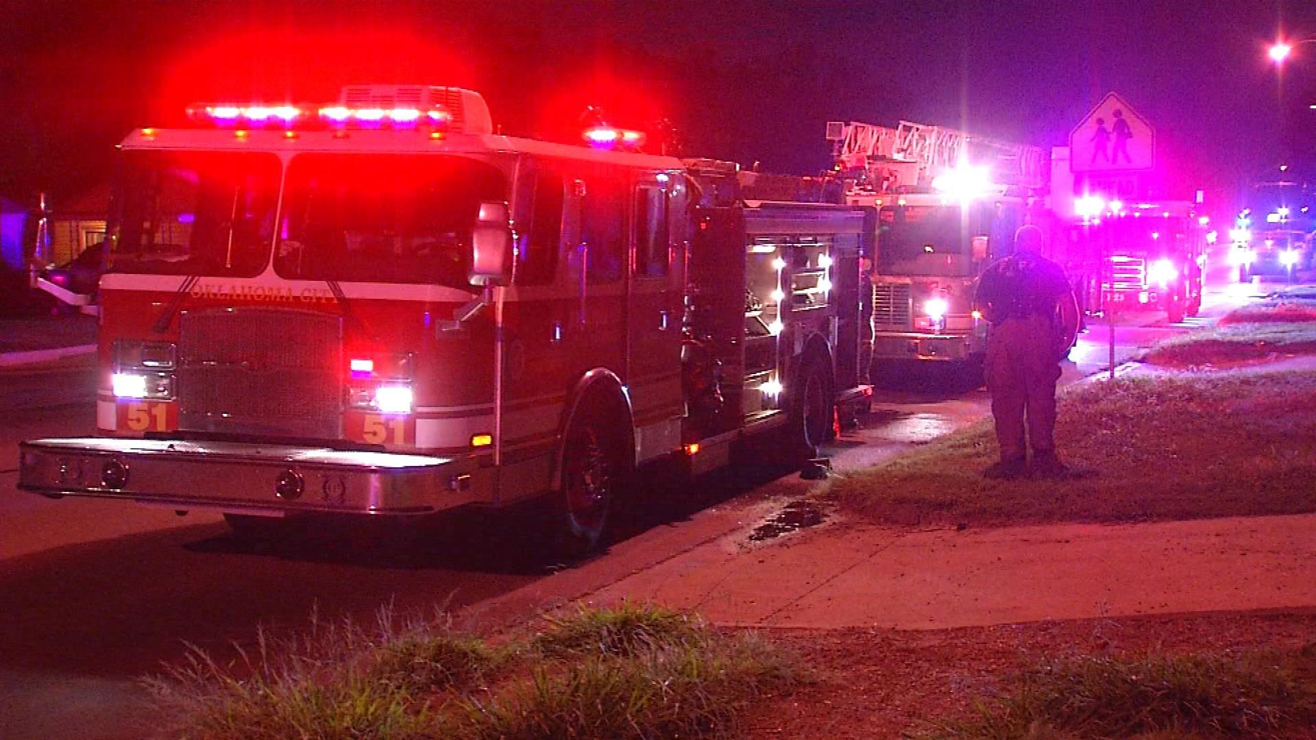 Authorities Investigate Suspicious Fires In SW OKC