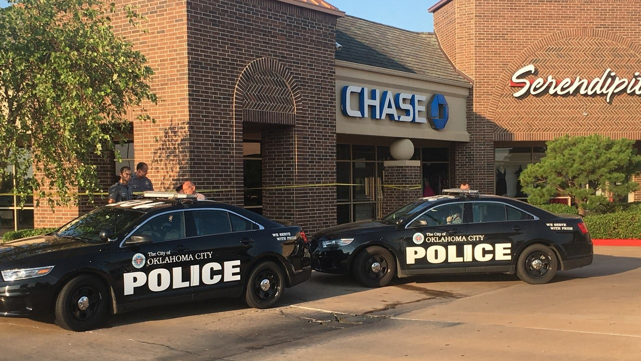Bank Robbed In NW OKC Early Thursday