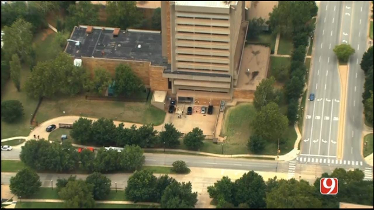 'All Clear' Given In Suspicious Package Investigation At OK Health Dept.