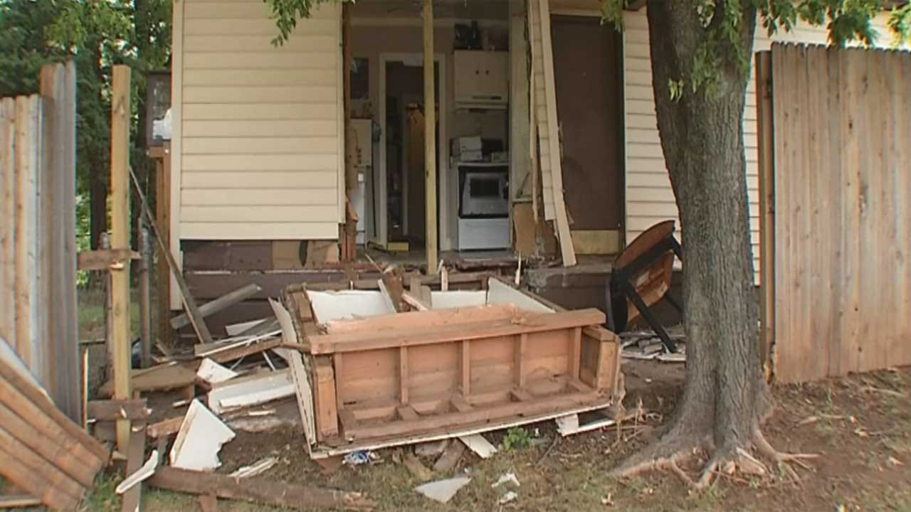 OKC Family Plans Move After Home Hit By Cars Four Times