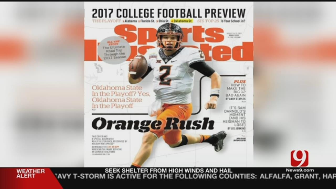 Mason Rudolph Featured On Sports Illustrated Cover