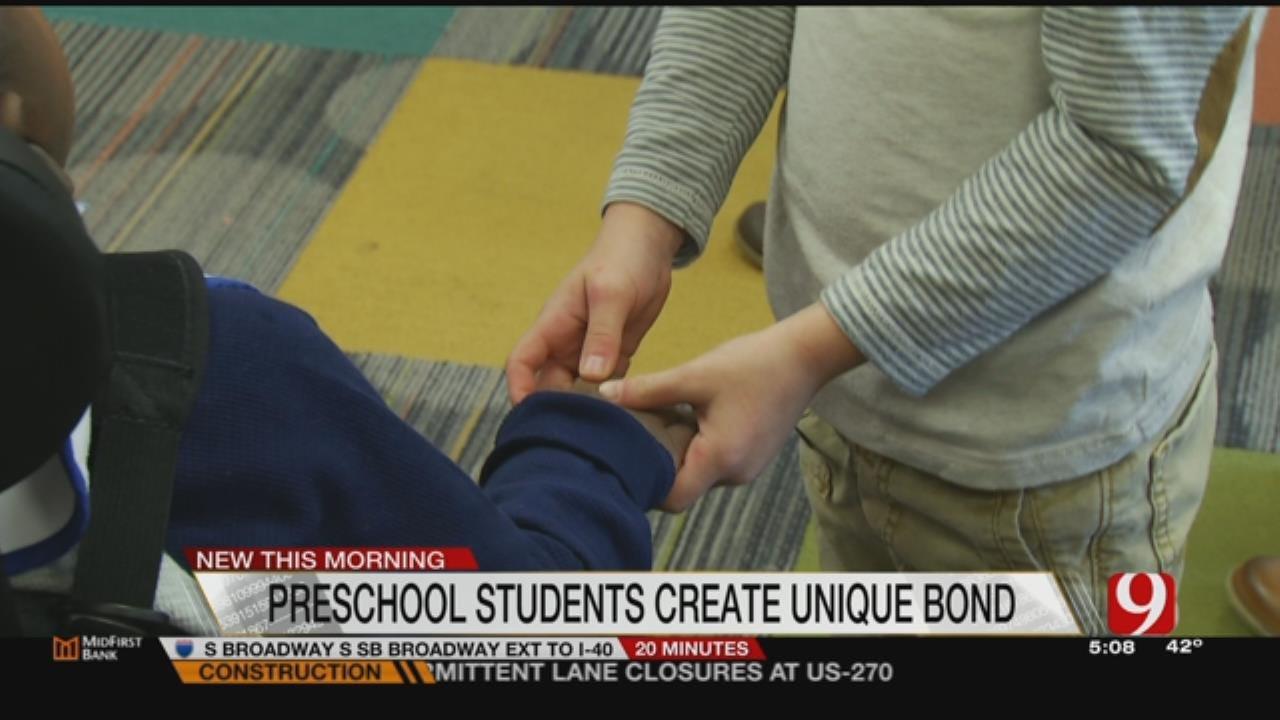 Bethany Preschool Children Create Unique Bond