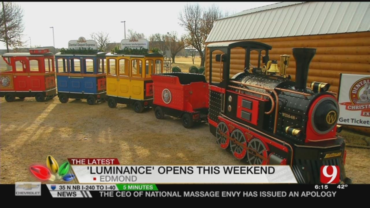 Edmond Begins New Holiday Tradition With Luminance on Saturday