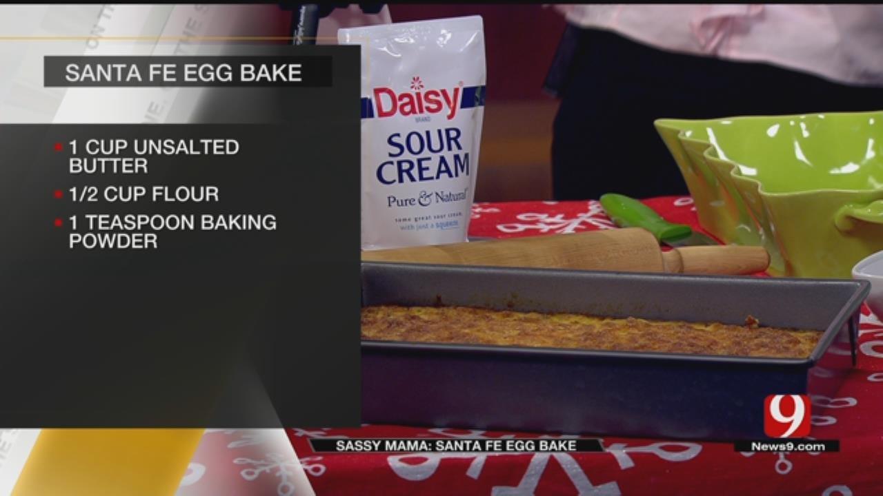 Santa Fe Egg Bake