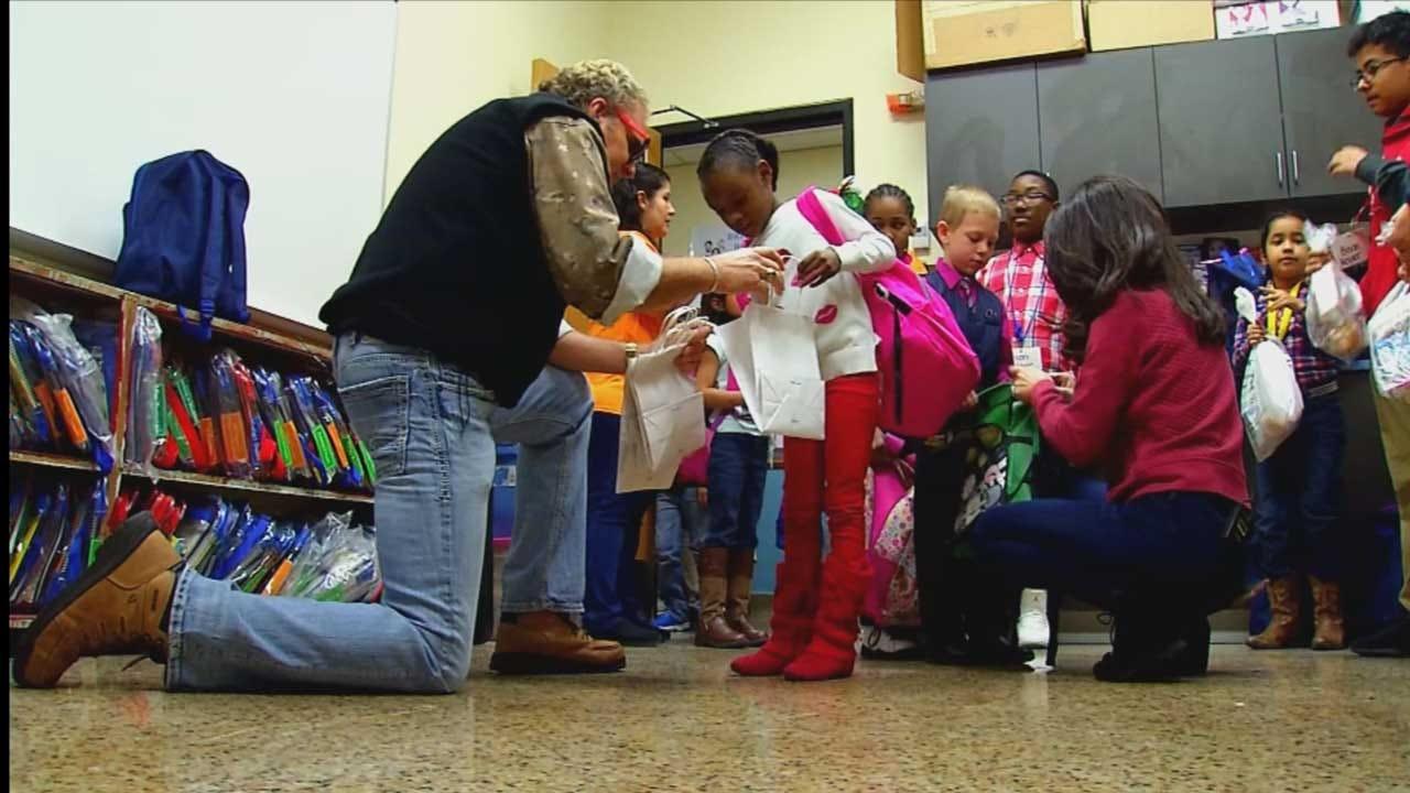 9 Days Of Christmas: Food For Kids Backpacks