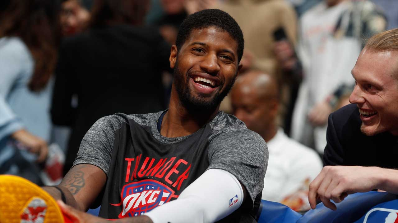 Paul George Returns To Indiana For First Time