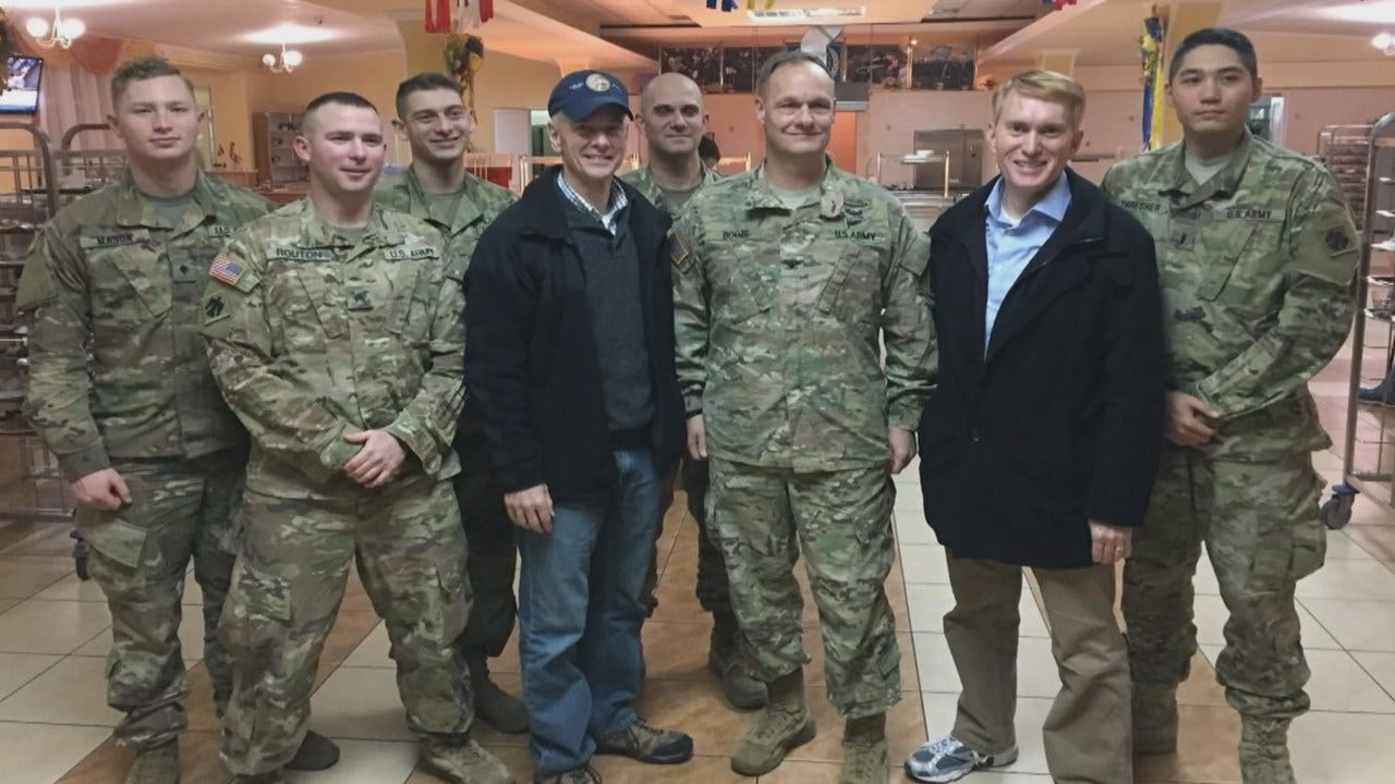 All Of 45th Infantry Back Home For The Holidays