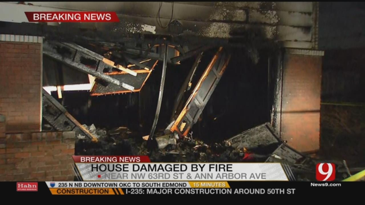 Warr Acres Home Is Total Loss After Fire