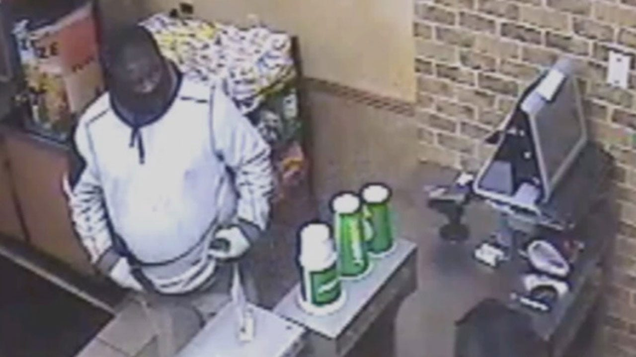 NW OKC Subway Held At Gunpoint Twice By Same Suspect