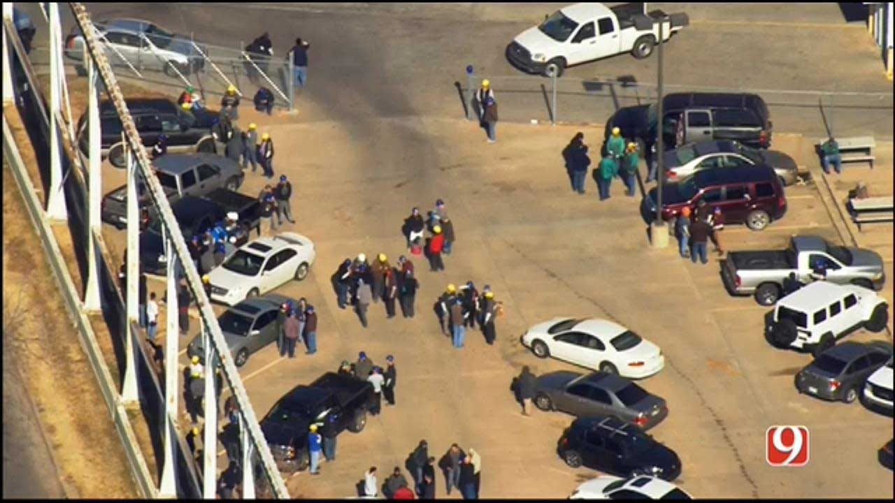 Residents, Workers Evacuated Due To Gas Leak In NW OKC