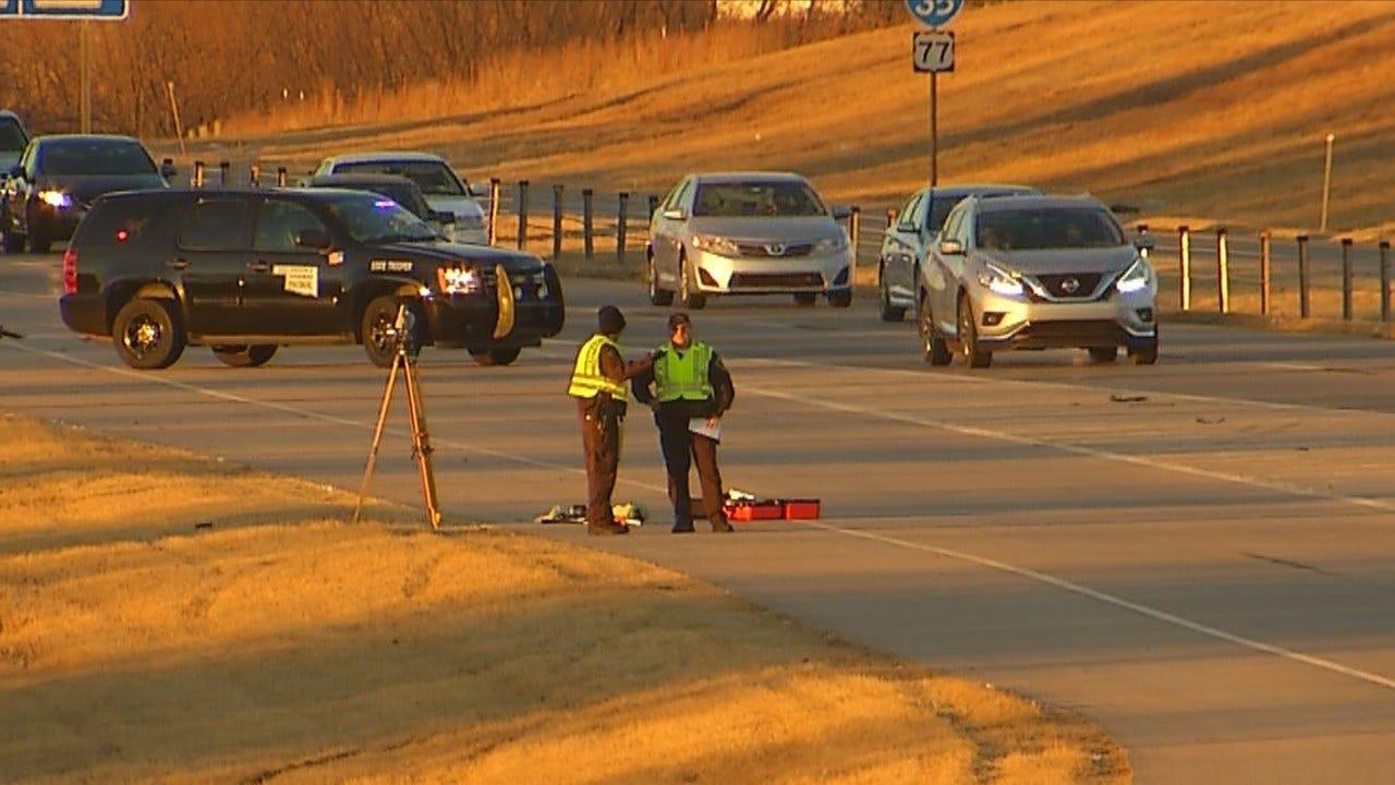 OHP Investigates Death On I-35 Ramp