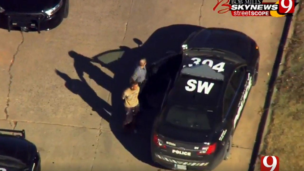 Suspect In SW OKC Police Pursuit Taken Into Custody