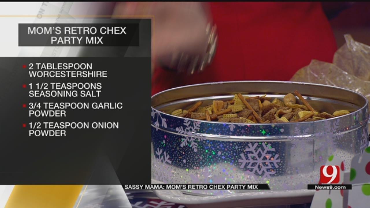 Mom's Retro Chex Party Mix