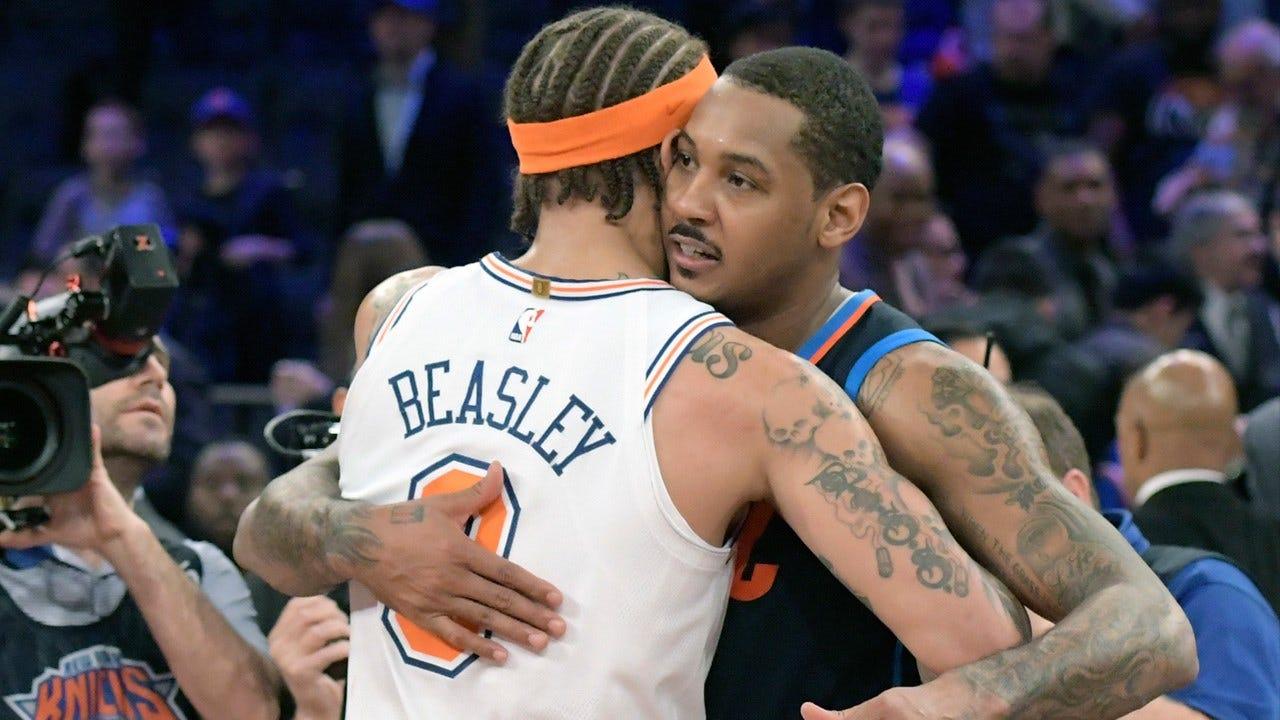 Poor Second-Half Dooms Thunder Against Knicks