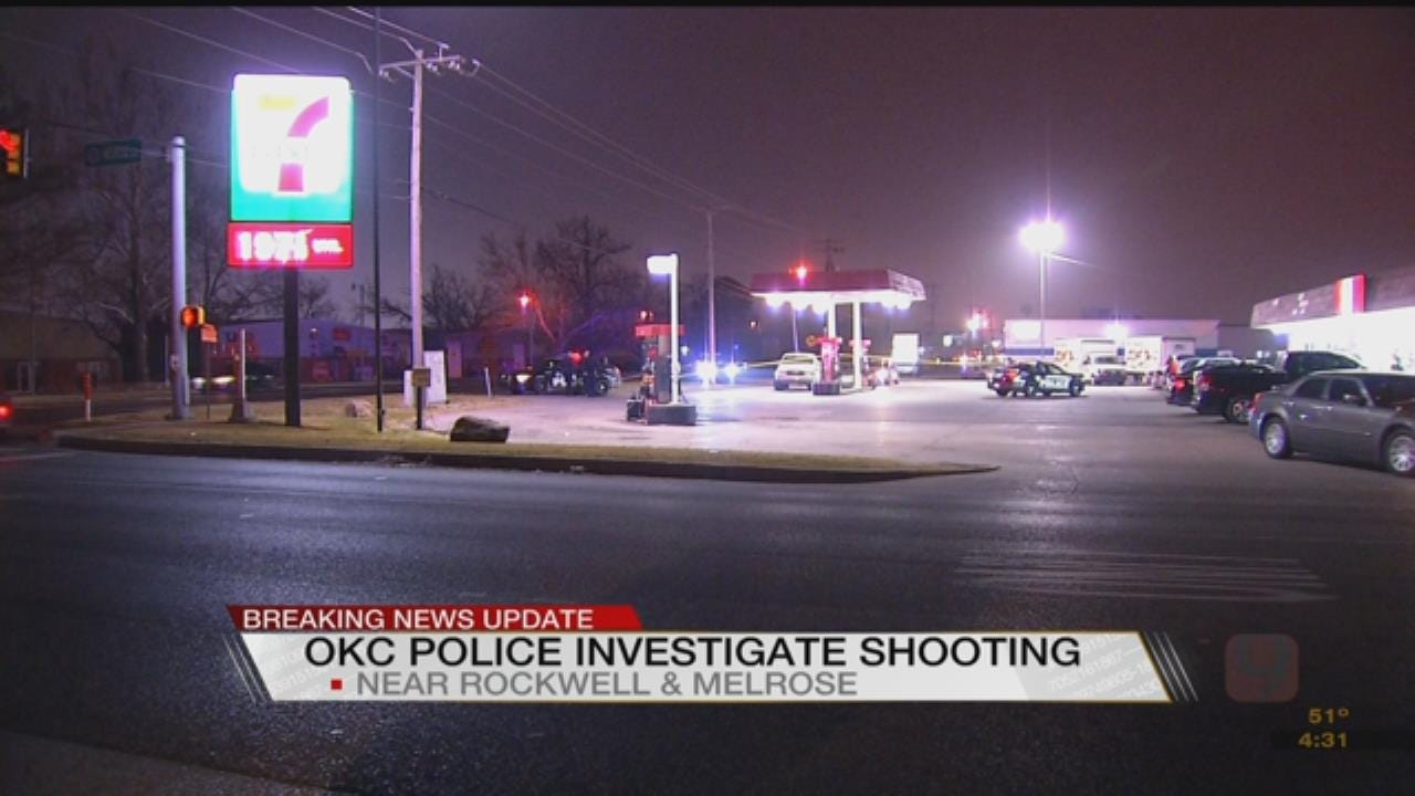 Victim Hospitalized After Shooting At NW OKC 7-Eleven