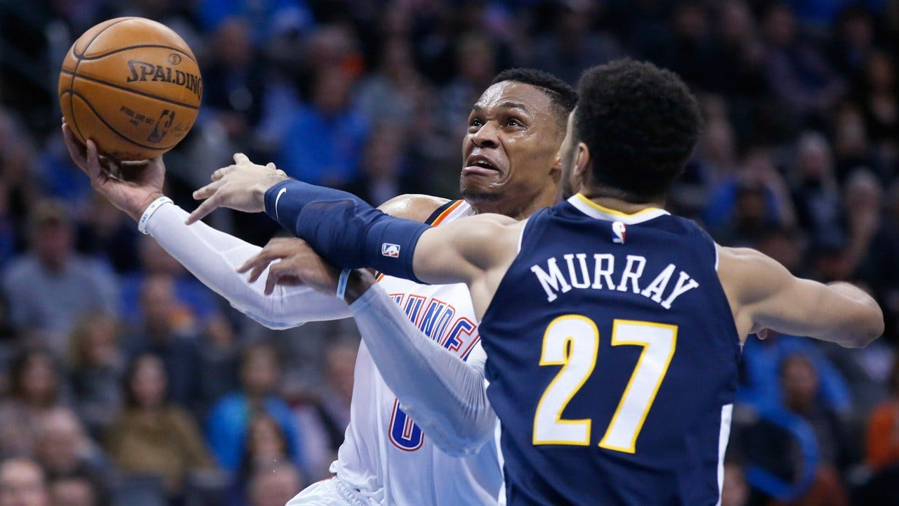 Westbrook Scores 38 To Lead Thunder Over Nuggets