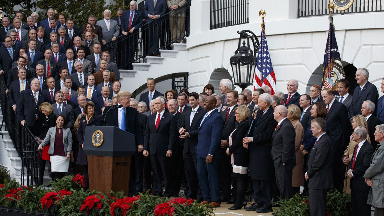 GOP Tax Bill Fact-Check: How Both Sides Stretch The Truth