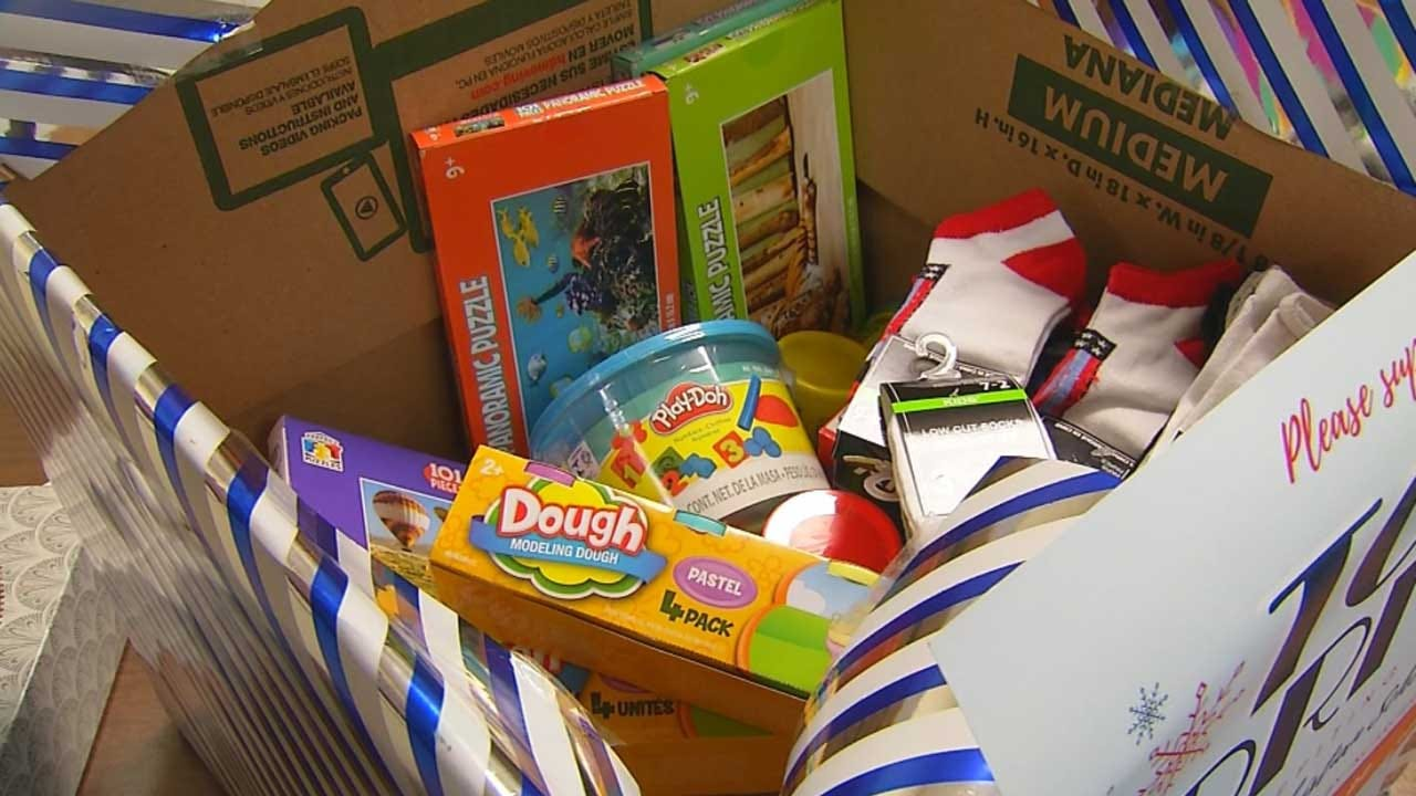 OKC School Collects Gifts For Kids Of Incarcerated Parents
