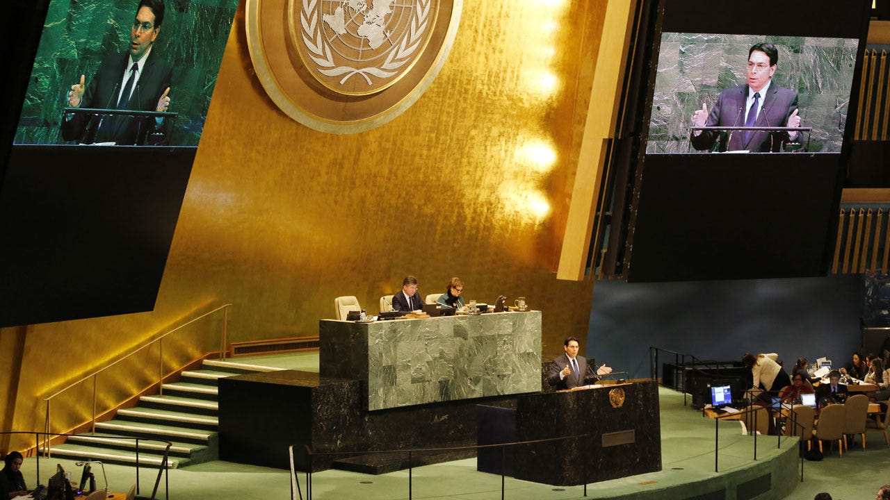 U.N. Votes To Declare Trump's Jerusalem Decision 'Null And Void'