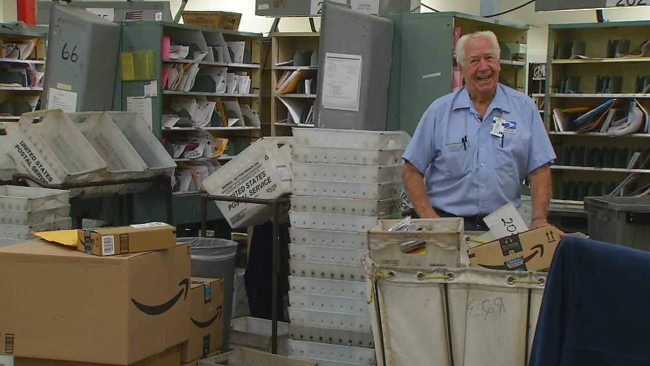 Red Dirt Diaries: Nation's Longest Serving Mail Carrier