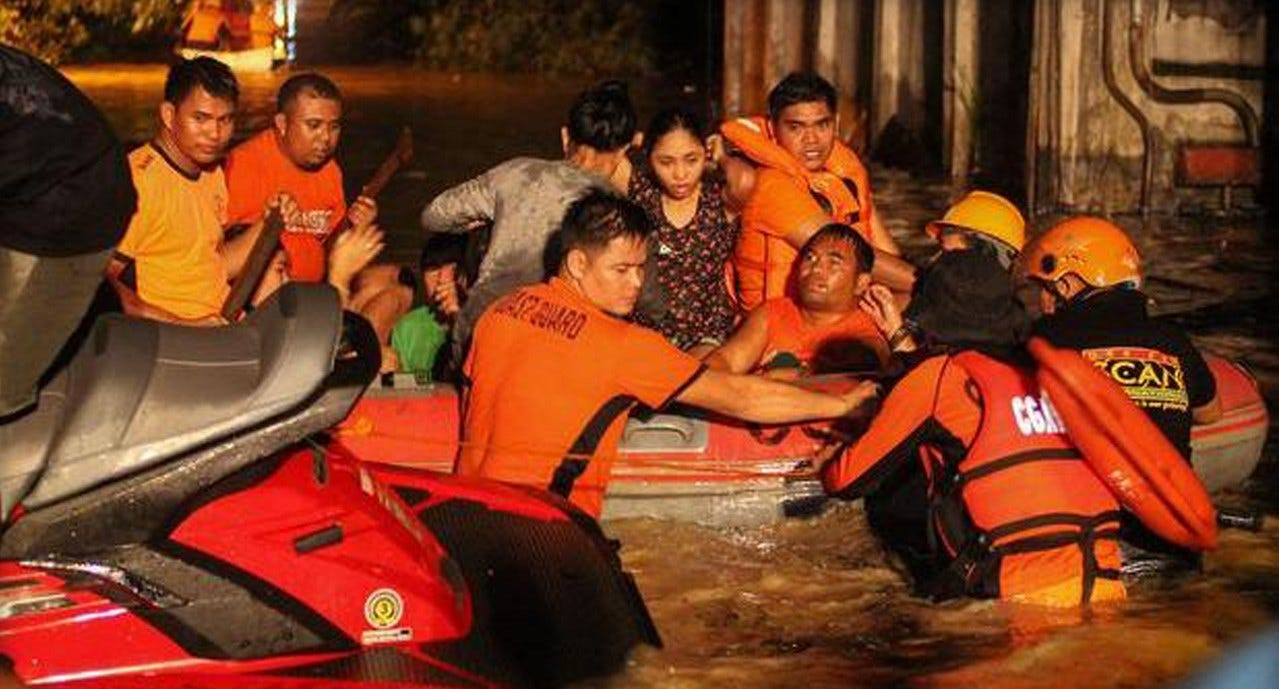 75 Dead, Dozens Missing As Tropical Storm Slams Philippines