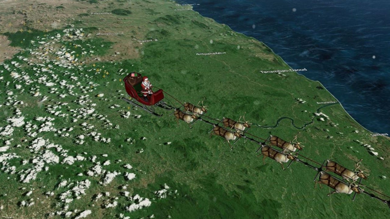 How To Track Santa's Deliveries On Christmas Eve