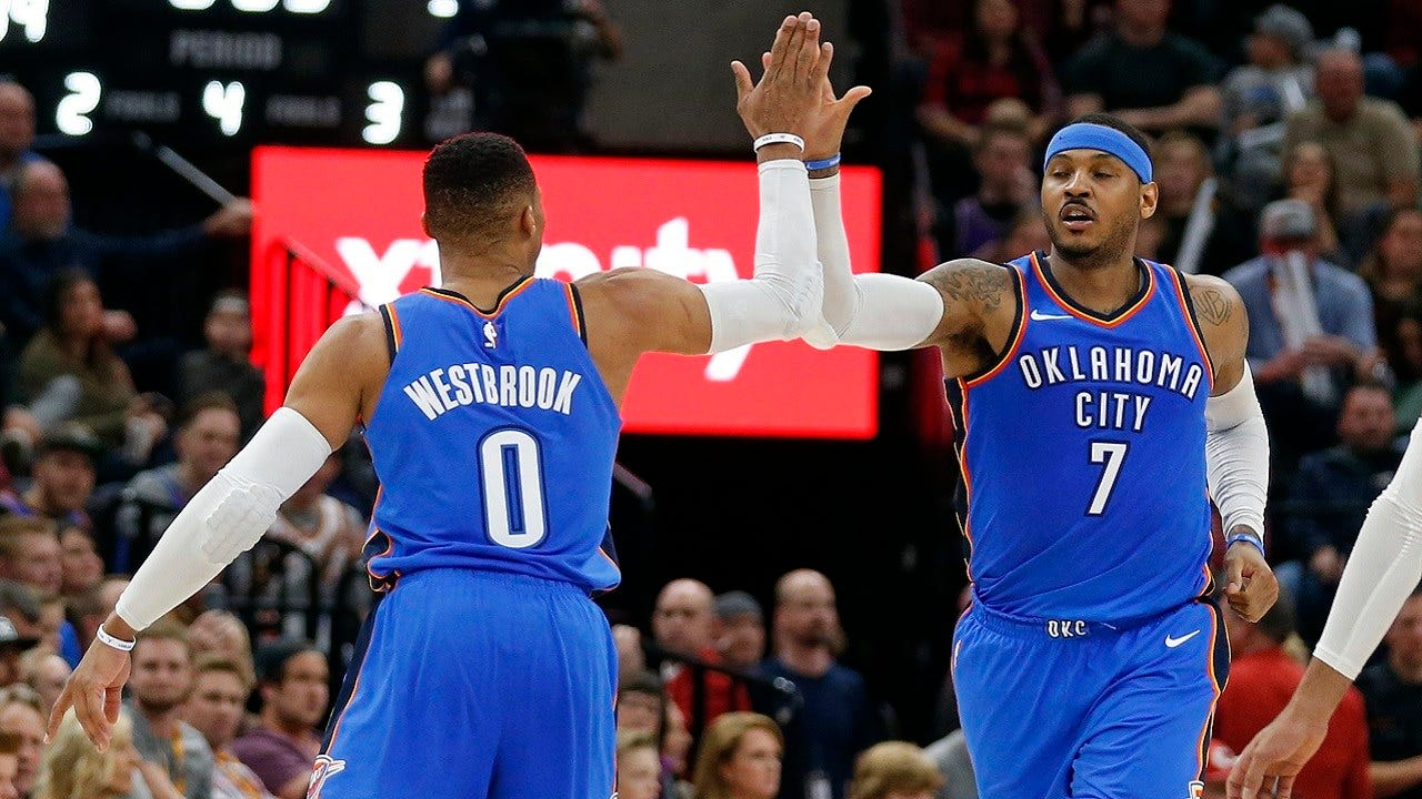 Westbrook, George Lead Thunder To 103-89 Win Over Jazz