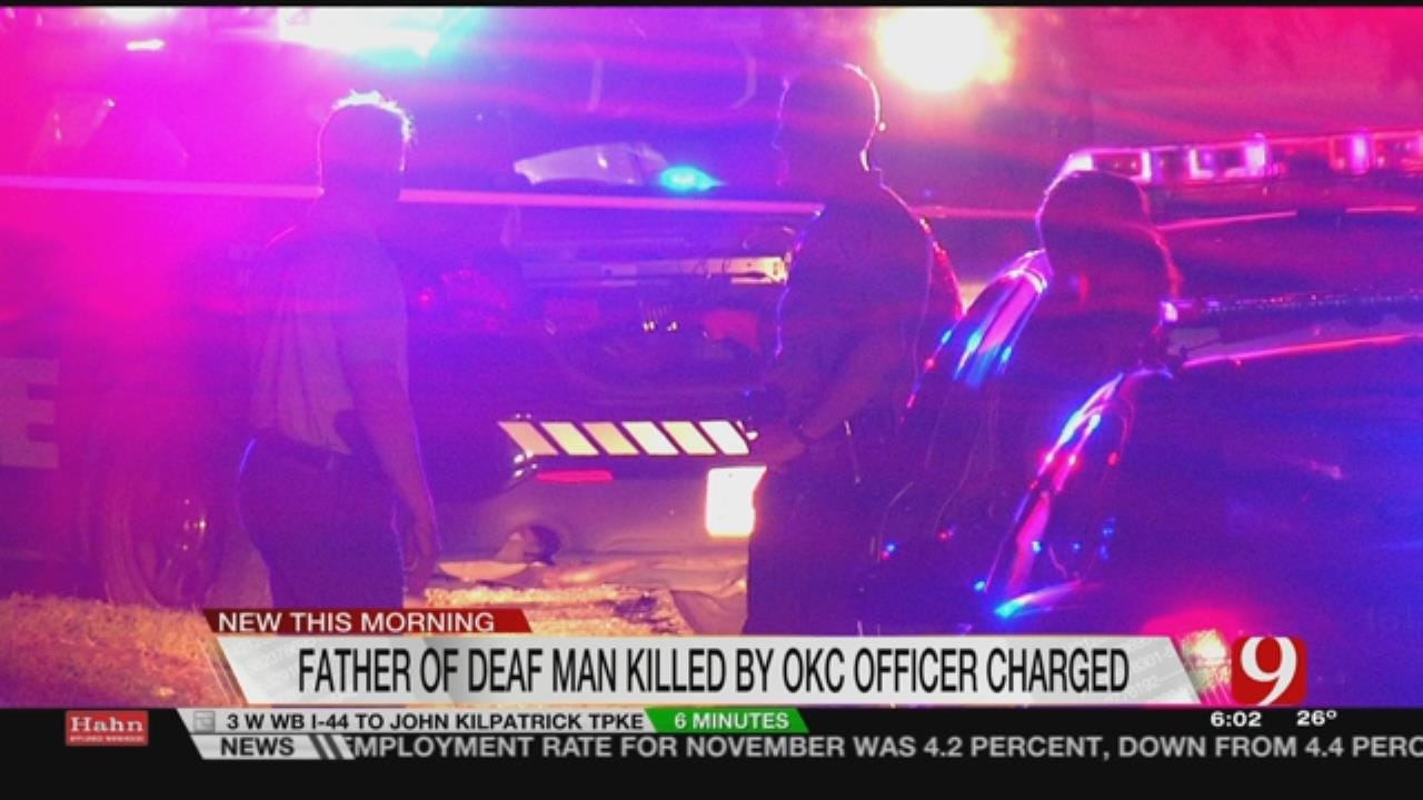 Father Of Deaf Man Fatally Shot By Police Faces Charges