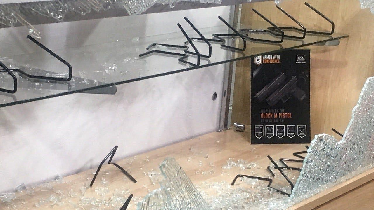 Nearly 2 Dozen Weapons Stolen From Metro Gun Range