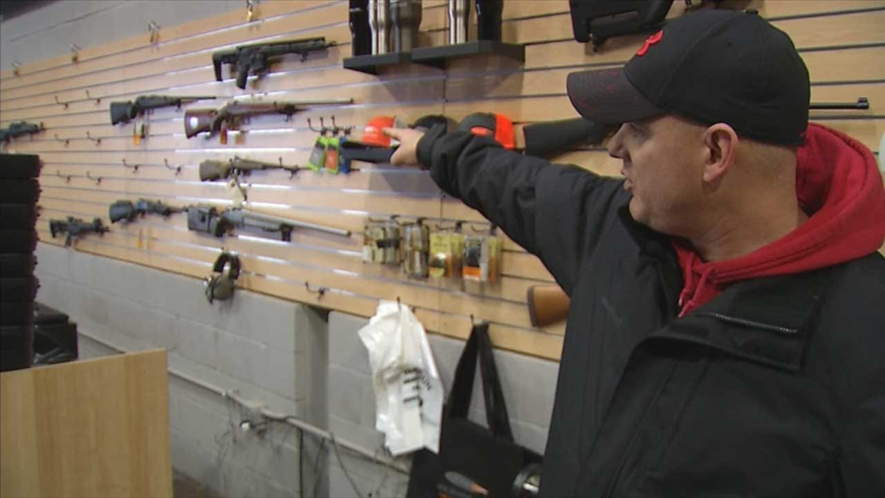 Over 20 Firearms Stolen From Wilshire Gun In OKC