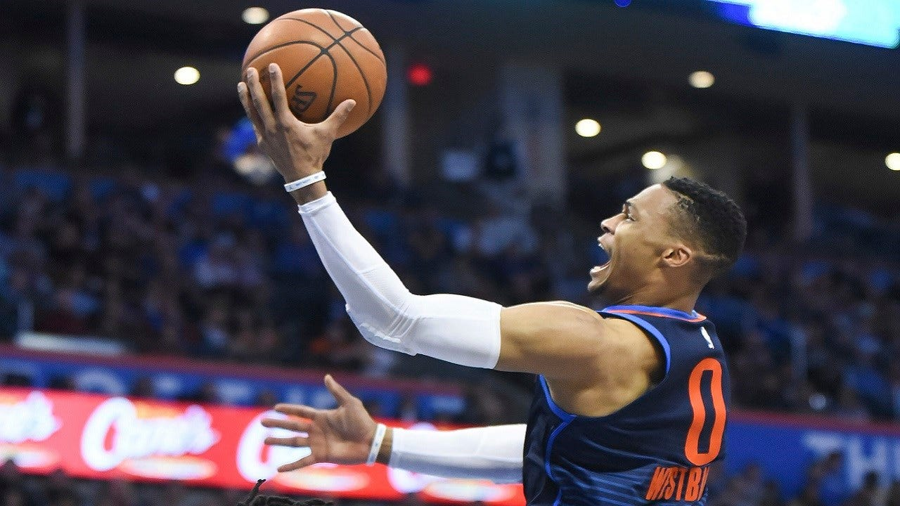 Westbrook Scores 31, OKC Keeps Rolling With Win Over Rockets