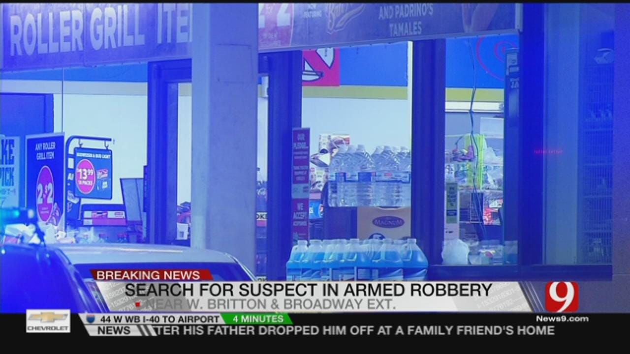 Police Investigate Armed Robbery In North OKC