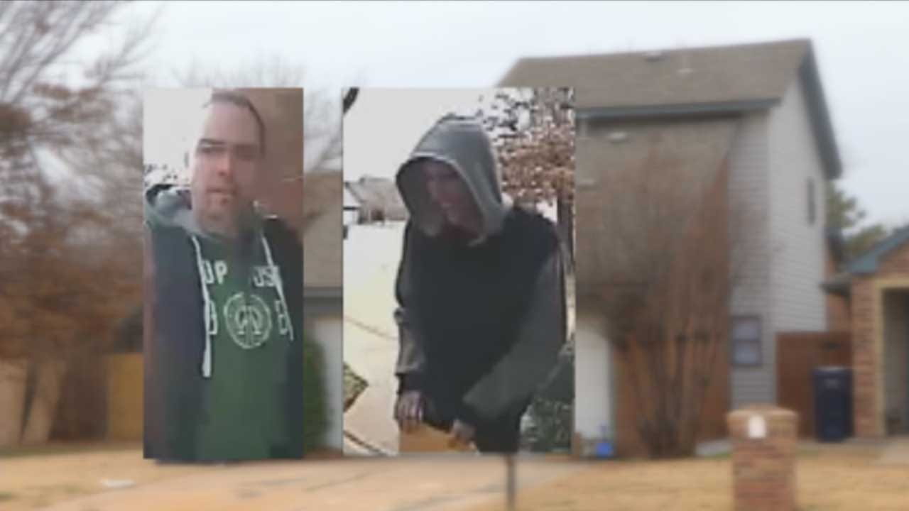 OCPD Searching For Repeat Porch Pirates