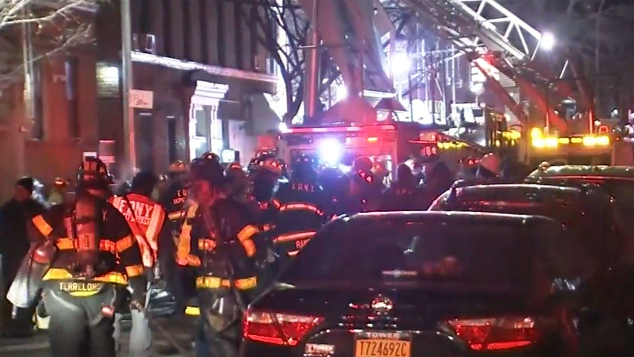 12 Dead In NYC Apartment Building Blaze, Including 4 Children