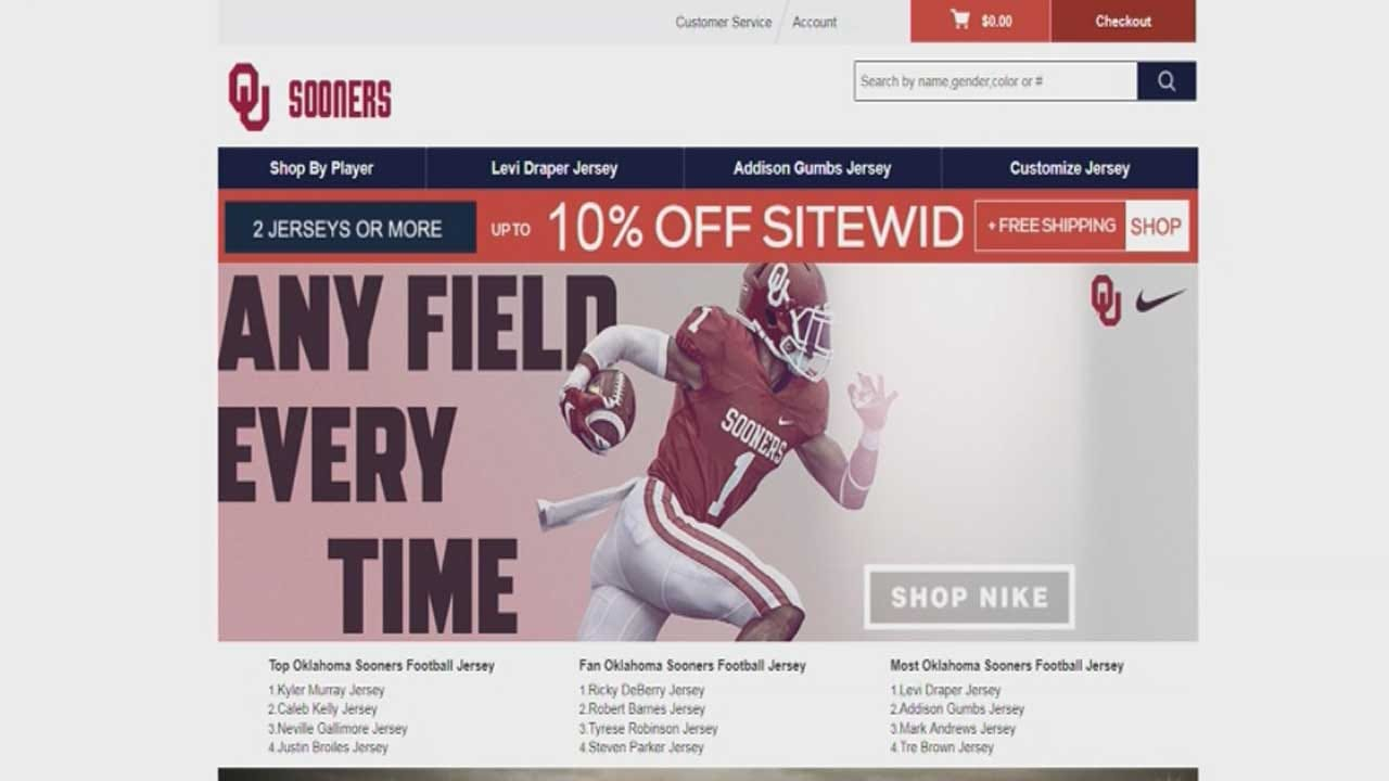 BBB Warns About Online OU Merchandise Scam