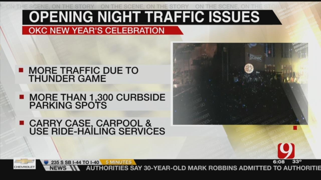 OKC Expects High Traffic On NYE In Downtown Area