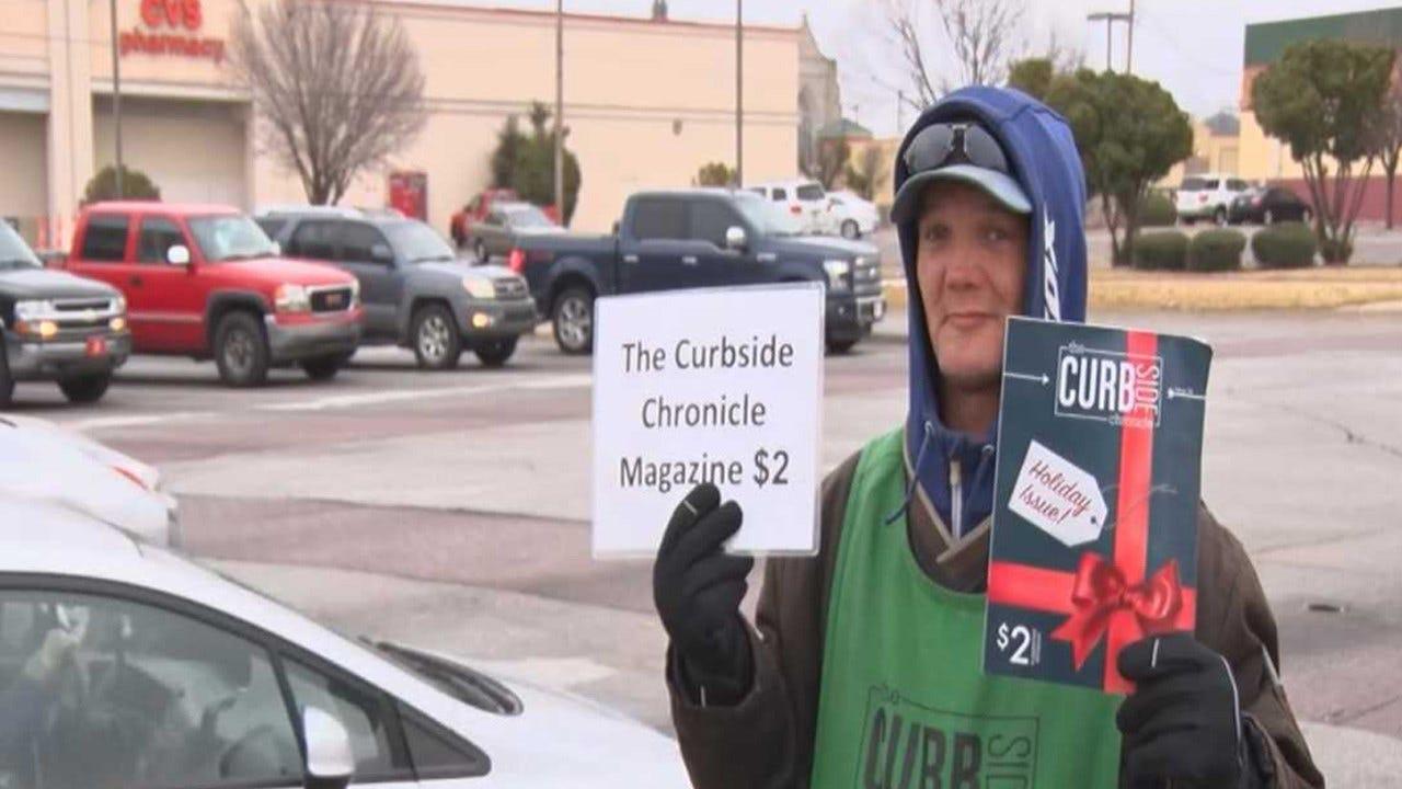 Coat Drive Benefits OKC's Homeless Magazine Vendors